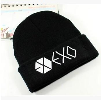 EXO Beanie Black Gotamochi BTS MERCH BT21 MERCH KAWAII STORE