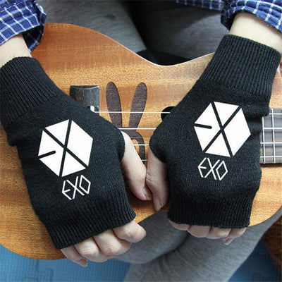 EXO Hand Mittins - GOTAMOCHI KPOP BTS MERCH KAWAII Shop - Gloves & Mittens