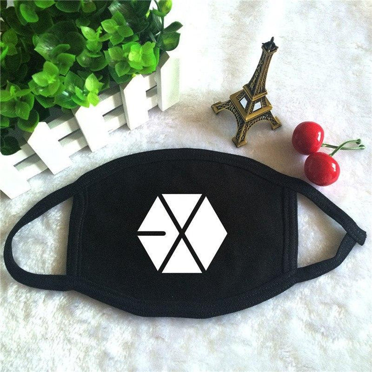 EXO Hexagon Mask Gotamochi BTS MERCH BT21 MERCH KAWAII STORE