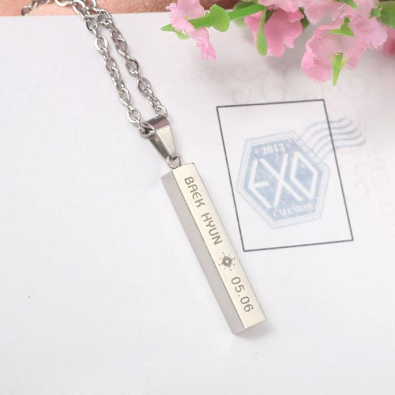 EXO Pendent Necklace Gotamochi BTS MERCH BT21 MERCH KAWAII STORE