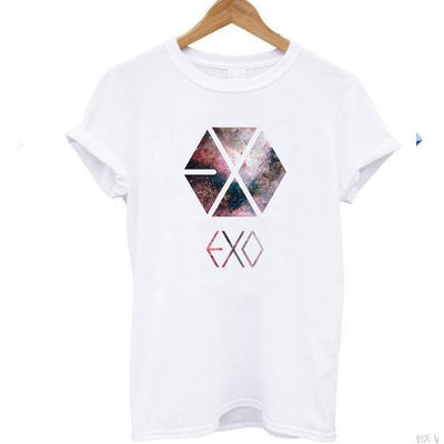 EXO Planet Tee - GOTAMOCHI KPOP BTS MERCH KAWAII Shop -