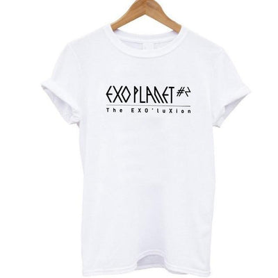 EXO Planet Tee W BS / S Gotamochi BTS MERCH BT21 MERCH KAWAII STORE