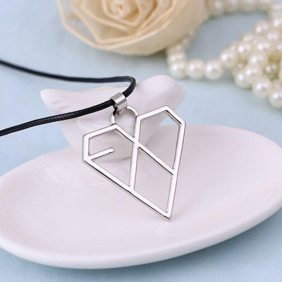 Geometric EXO Rope Necklace Gotamochi BTS MERCH BT21 MERCH KAWAII STORE