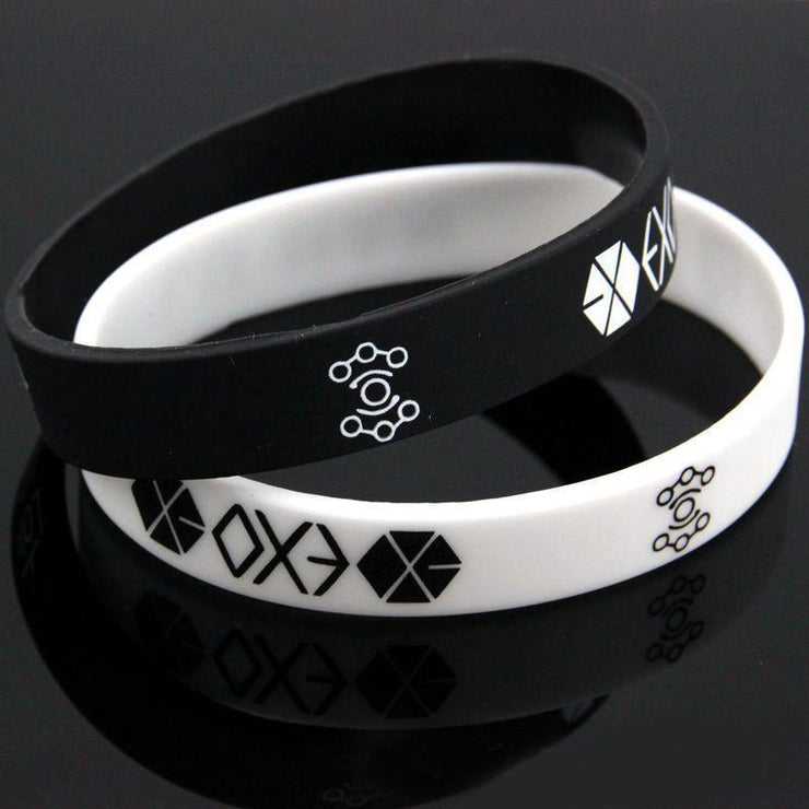 Geometric EXO Team Wristband Gotamochi BTS MERCH BT21 MERCH KAWAII STORE