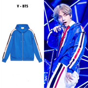 Go Go Bleu Jacket S Gotamochi BTS MERCH BT21 MERCH KAWAII STORE