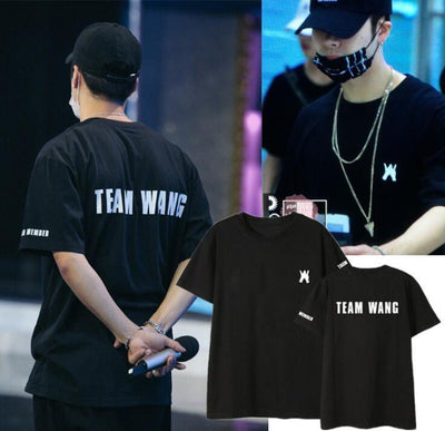 GOT7 Team Wang Tee - GOTAMOCHI KPOP BTS MERCH KAWAII Shop -