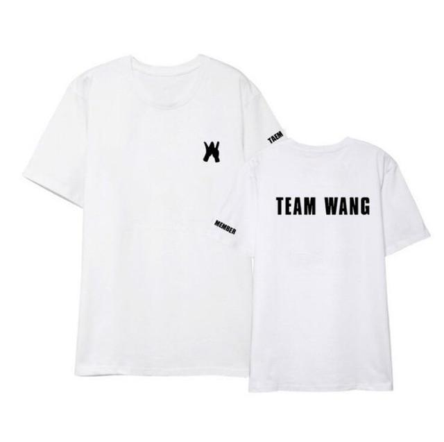 GOT7 Team Wang Tee W / M Gotamochi BTS MERCH BT21 MERCH KAWAII STORE