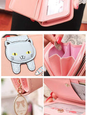 Hanging Cat Mini Purse Gotamochi BTS MERCH BT21 MERCH KAWAII STORE