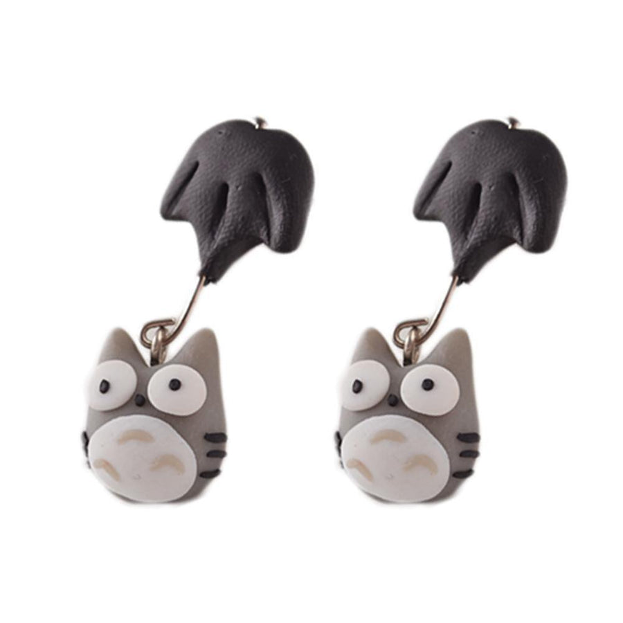 Happy Owl Earrings Gotamochi BTS MERCH BT21 MERCH KAWAII STORE