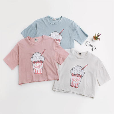 Ice Cream Sundae Crop Top Gotamochi BTS MERCH BT21 MERCH KAWAII STORE