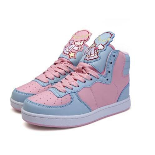 Japanese Sweet Lolita Cartoon Shoes Kawaii Sneakers Angel / 35 Gotamochi BTS MERCH BT21 MERCH KAWAII STORE