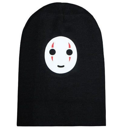 Kaonashi No Face Smiling Beanie Gotamochi BTS MERCH BT21 MERCH KAWAII STORE