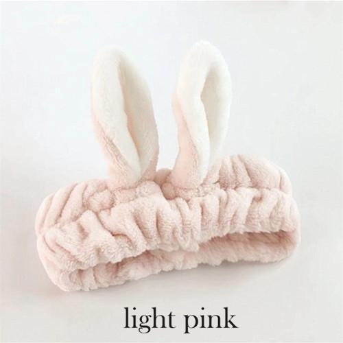 Kawaii Cat Ear Hairband Light pink8 Gotamochi BTS MERCH BT21 MERCH KAWAII STORE