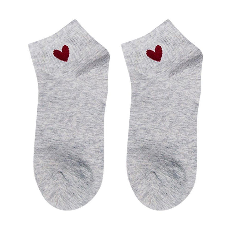 Kawaii Heart Ankle Socks Gotamochi BTS MERCH BT21 MERCH KAWAII STORE