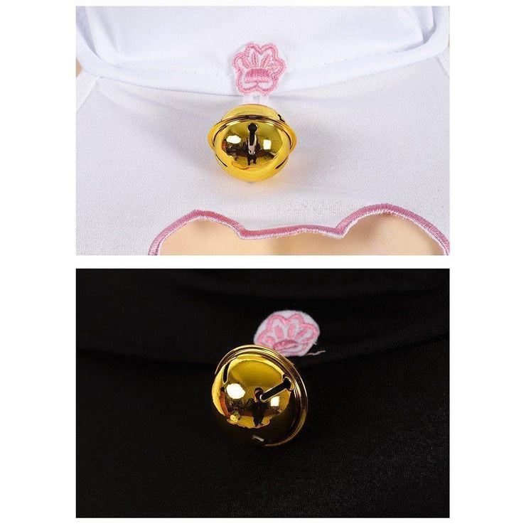 Kawaii Keyhole Cat Hollow Out Backless Dress [2 Colors] Gotamochi BTS MERCH BT21 MERCH KAWAII STORE