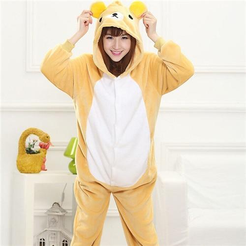 Kawaii Rilakkuma Onesie Jumpsuit Rilakkuma / S Gotamochi BTS MERCH BT21 MERCH KAWAII STORE