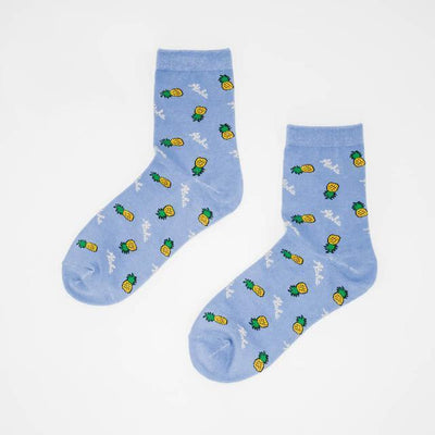 Kawaii Strawberry Milk Socks 439-4 Gotamochi BTS MERCH BT21 MERCH KAWAII STORE