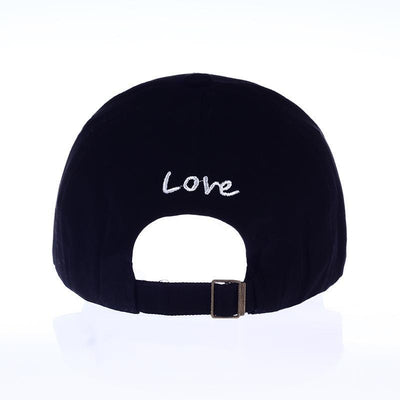 Korean Heart Cap - GOTAMOCHI KPOP BTS MERCH KAWAII Shop - Baseball Caps