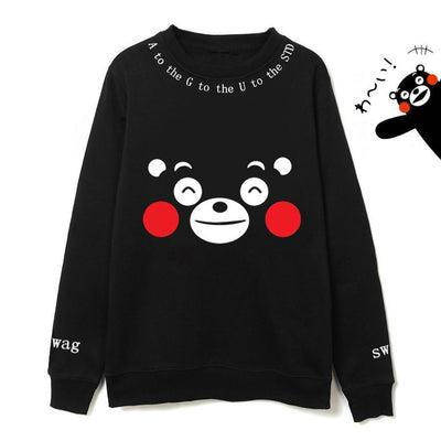 Kumamon Agust D Sweater Gotamochi BTS MERCH BT21 MERCH KAWAII STORE