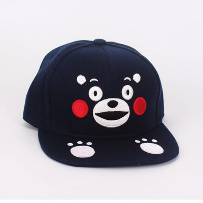 Kumamon Bear Snapback Gotamochi BTS MERCH BT21 MERCH KAWAII STORE