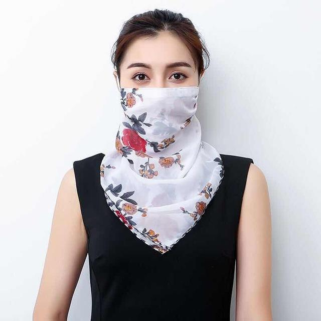 Lightweight Face Mask Scarf Kawaii Outdoor Accessory 10 Gotamochi BTS MERCH BT21 MERCH KAWAII STORE
