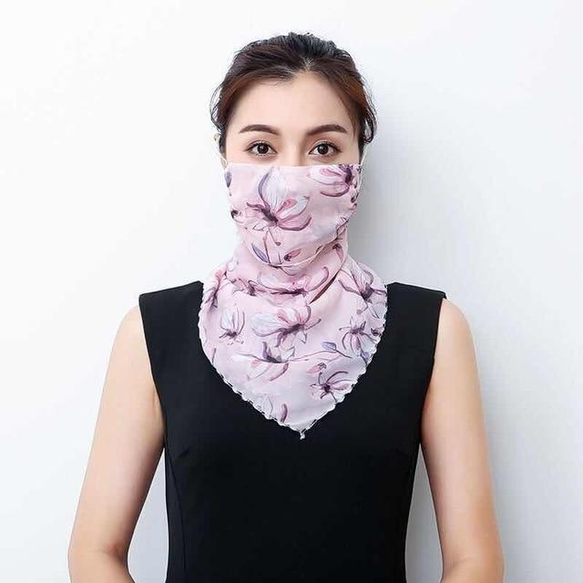 Lightweight Face Mask Scarf Kawaii Outdoor Accessory 16 Gotamochi BTS MERCH BT21 MERCH KAWAII STORE