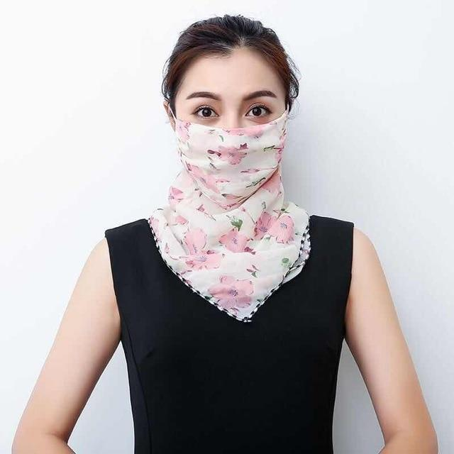 Lightweight Face Mask Scarf Kawaii Outdoor Accessory 18 Gotamochi BTS MERCH BT21 MERCH KAWAII STORE