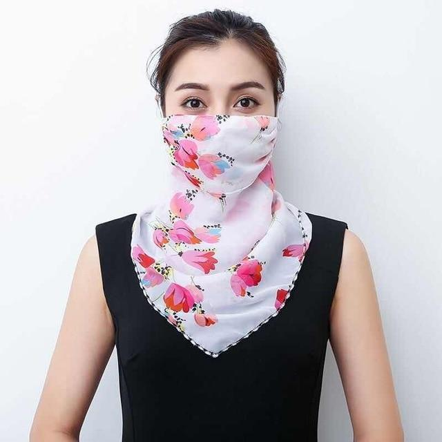 Lightweight Face Mask Scarf Kawaii Outdoor Accessory 3 Gotamochi BTS MERCH BT21 MERCH KAWAII STORE