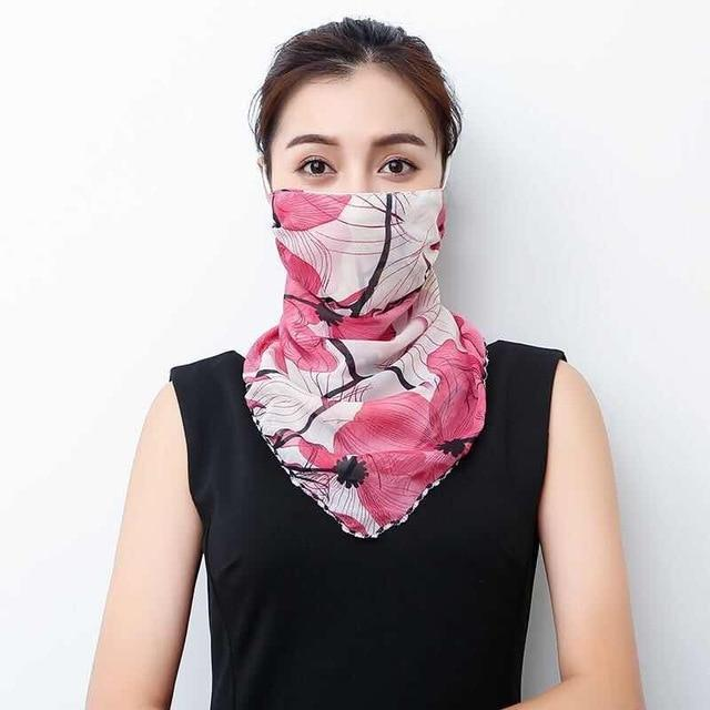 Lightweight Face Mask Scarf Kawaii Outdoor Accessory 8 Gotamochi BTS MERCH BT21 MERCH KAWAII STORE