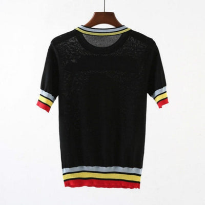 Love Machine Knitted Tee - GOTAMOCHI KPOP BTS MERCH KAWAII Shop -