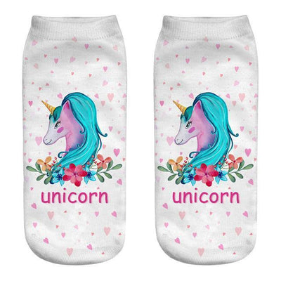 Magical Unicorn Ankle Socks 12 Gotamochi BTS MERCH BT21 MERCH KAWAII STORE