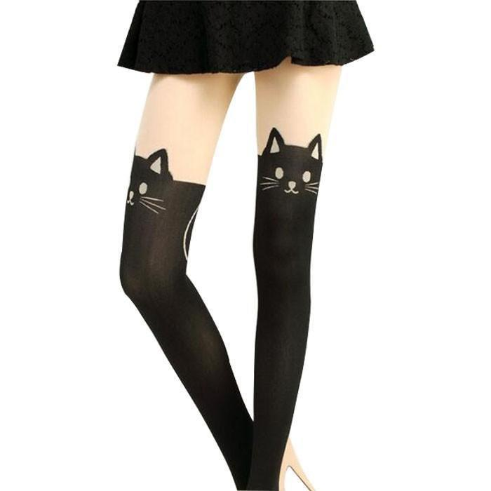 Meow Cat Stockings Cat Gotamochi BTS MERCH BT21 MERCH KAWAII STORE