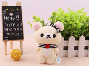 Mini Rilakkuma Plush Toy White Gotamochi BTS MERCH BT21 MERCH KAWAII STORE
