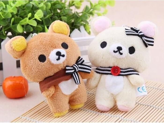 Mini Rilakkuma Plush Toy Gotamochi BTS MERCH BT21 MERCH KAWAII STORE