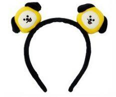 Official BTS x BT21 Plush Hairband CHIMMY Gotamochi BTS MERCH BT21 MERCH KAWAII STORE
