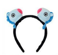 Official BTS x BT21 Plush Hairband MANG Gotamochi BTS MERCH BT21 MERCH KAWAII STORE