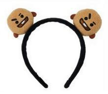 Official BTS x BT21 Plush Hairband SHOOKY Gotamochi BTS MERCH BT21 MERCH KAWAII STORE