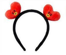 Official BTS x BT21 Plush Hairband TATA Gotamochi BTS MERCH BT21 MERCH KAWAII STORE