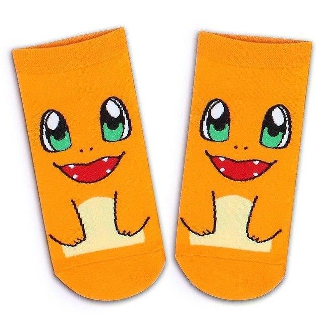 Pokemon Ankle Socks Charmander Gotamochi BTS MERCH BT21 MERCH KAWAII STORE