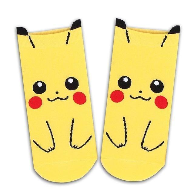 Pokemon Ankle Socks Pikachu Gotamochi BTS MERCH BT21 MERCH KAWAII STORE