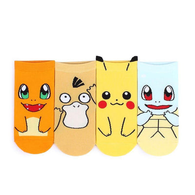 Pokemon Ankle Socks Gotamochi BTS MERCH BT21 MERCH KAWAII STORE