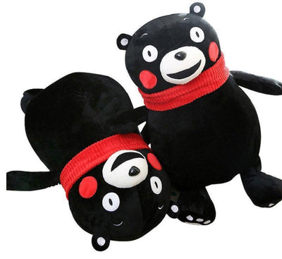 Red Scarf Kumamon Plush Toy - GOTAMOCHI KPOP BTS MERCH KAWAII Shop - Stuffed & Plush Animals