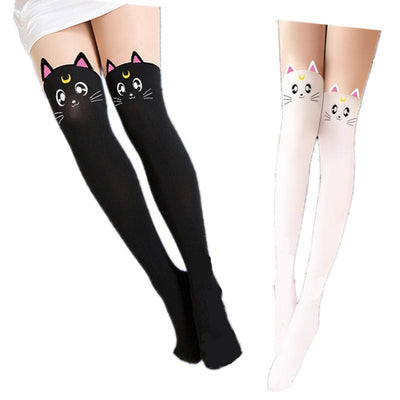 Sailor Moon Luna Stocking Gotamochi BTS MERCH BT21 MERCH KAWAII STORE