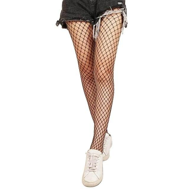 Sexy Cosplay Mesh Lingerie Fishnet Stockings middle mesh Gotamochi BTS MERCH BT21 MERCH KAWAII STORE