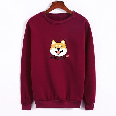 Shiba Inu Pullover purple / M Gotamochi BTS MERCH BT21 MERCH KAWAII STORE