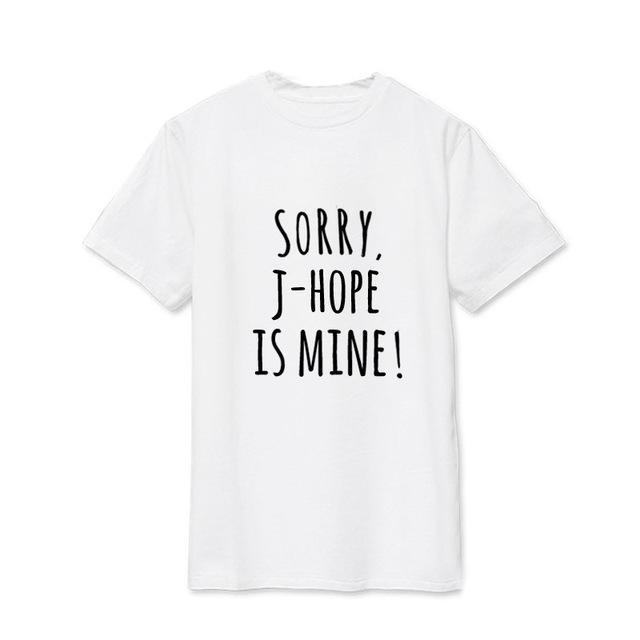 Sorry, BTS is Mine! Tee JHOPE2 / S Gotamochi BTS MERCH BT21 MERCH KAWAII STORE