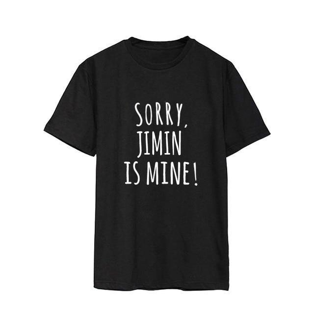 Sorry, BTS is Mine! Tee JIMIN / S Gotamochi BTS MERCH BT21 MERCH KAWAII STORE