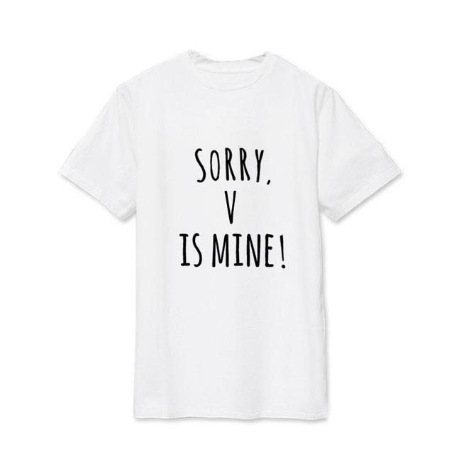 Sorry, BTS is Mine! Tee V14 / S Gotamochi BTS MERCH BT21 MERCH KAWAII STORE