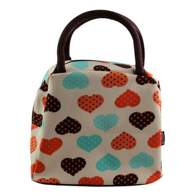 Strawberry Hearts Handbang - Gotamochi Kawaii Shop - Top-Handle Bags