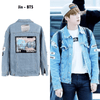 Where Is My Mind? Denim Jacket Gotamochi BTS MERCH BT21 MERCH KAWAII STORE
